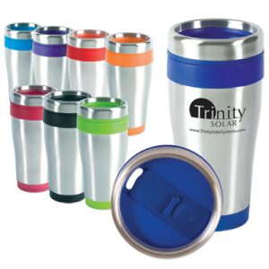 Custom 16oz Blue Monday Travel Tumbler