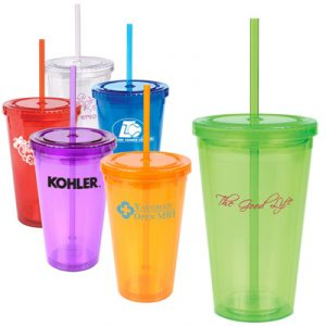 Custom 16oz Double Wall Cool Acrylic Tumbler