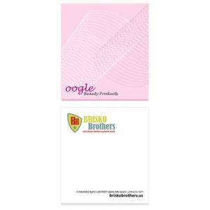 "3"" x 3"" Custom BiC Adhesive Notepads – 25 Sheets"