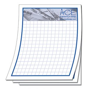 "4-1/4"" x 5-1/2"" Custom 25-Sheet Scratch Pad"