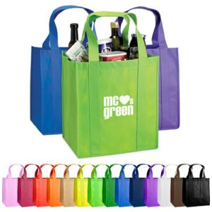 Custom Atlas Nonwoven Grocery Tote