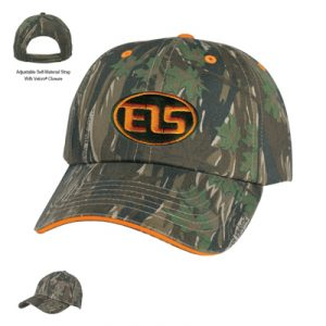 Custom Embroidered Camouflage Cap