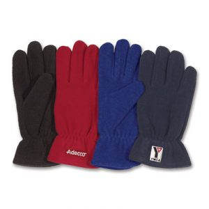 Custom Embroidered Fleece Gloves