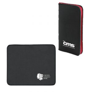 Custom Neoprene Zippered Mouse Pad