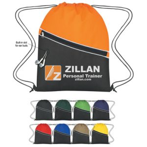 Custom Non-Woven Two-Tone Sports Pack