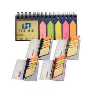 Custom Pocket Jotter with Sticky Notes