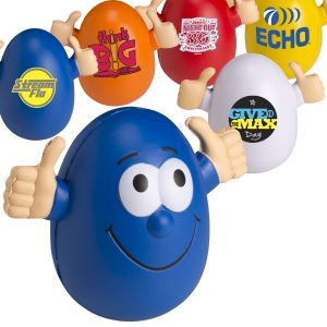 Goofy™ Wobbly Personalized Stress Ball Egg