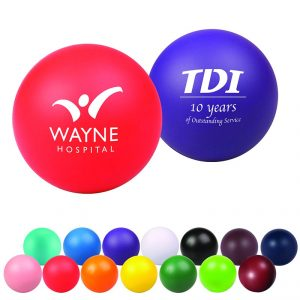 Round Personalized Stress Ball