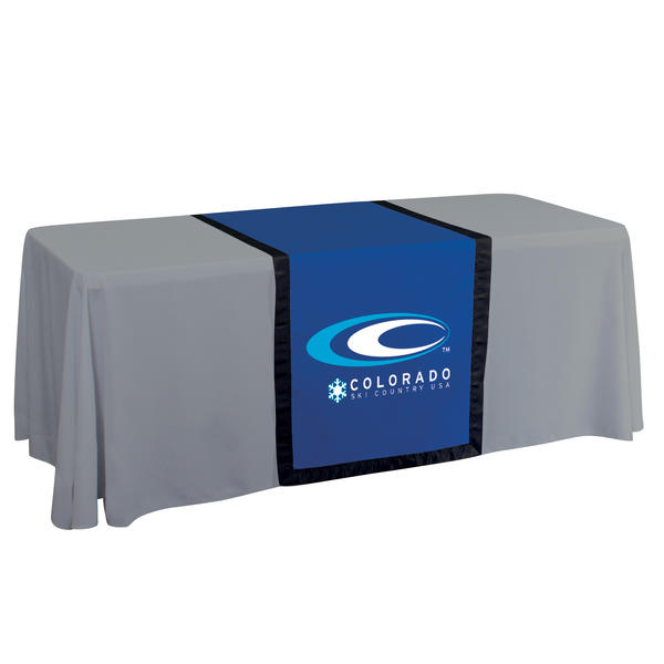 Trade Show Table Cover ...  sc 1 st  Promo Excitement & Trade Show Table Cover Runner - 28\