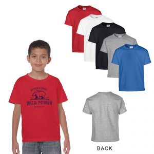 Custom Gildan® Heavy Cotton Classic Fit Youth T-shirt - 5.3 OZ