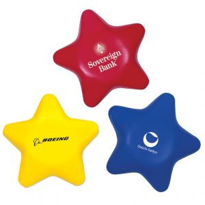Custom Star Stress Ball