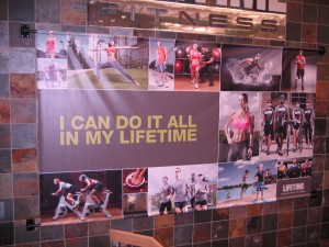 Lifetime Fitness Campaign Gets Me Thinking…And Exercising