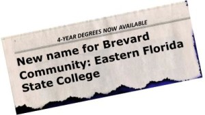 "More Colleges Drop ""Community"" from Their Names"